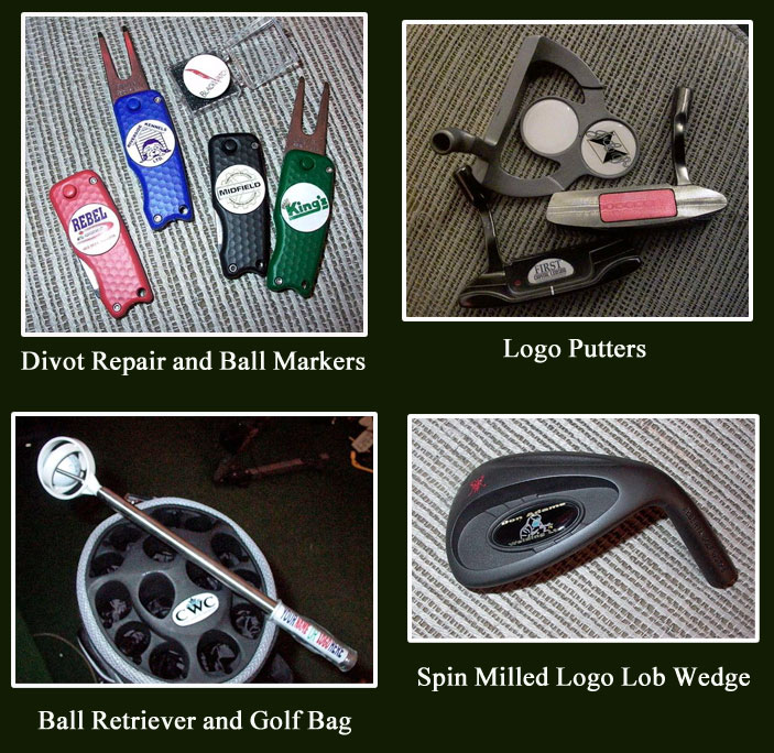 Promotional Items from Alberta Golf Works